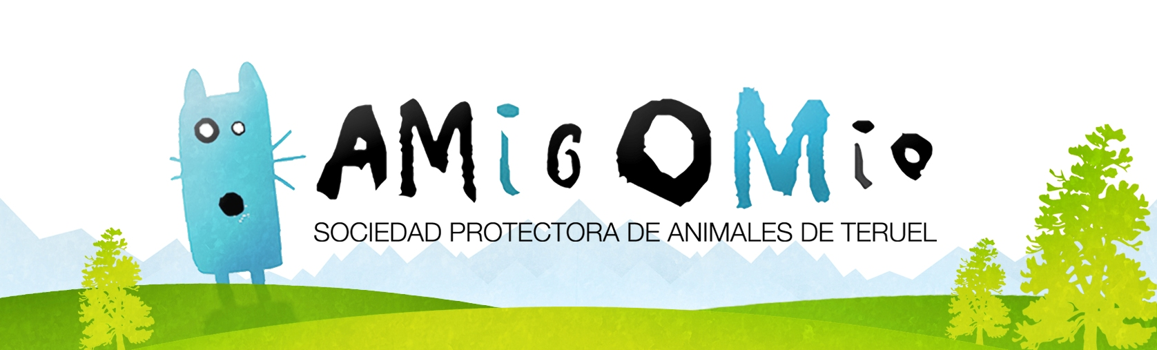 <h1>Amigo Mío <small>Sociedad Protectora de Animales de Teruel</small></h1>